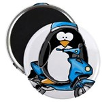 Blue Scooter Penguin 2.25