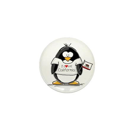California Penguin Mini Button (100 pack)