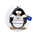"South Carolina Penguin 3.5"" Button (100 pack)"