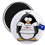 "South Carolina Penguin 2.25"" Magnet (10 pack)"