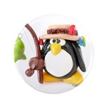 Clay Fishing Penguin 3.5