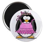 "Ballet Penguin 2.25"" Magnet (100 pack)"