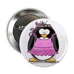 "Ballet Penguin 2.25"" Button (10 pack)"