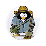 "Treasure Hunter Penguin 3.5"" Button (100 pack"