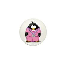Nurse Penguin Mini Button (10 pack)
