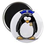 "Policeman penguin 2.25"" Magnet (10 pack)"