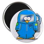 """Deep Sea Diver Penguin 2.25"""" Magnet (10 pack)"""