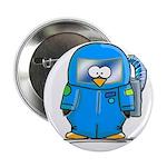 """Deep Sea Diver Penguin 2.25"""" Button (10 pack)"""