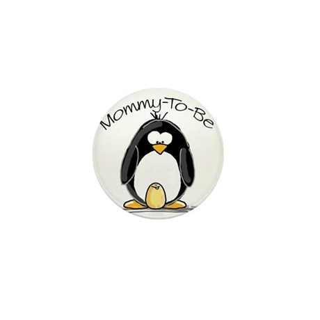 Mommy to Be Penguin Mini Button (100 pack)