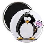 """World's Greatest Mom Penguin 2.25"""" Magnet (10"""