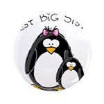 "Best Big Sister penguins 3.5"" Button (100 pac"
