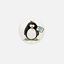 World's Greatest Dad Penguin Mini Button (10 pack)