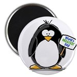 "World's Greatest Dad Penguin 2.25"" Magnet (10"