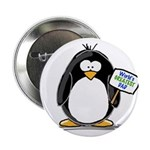 "World's Greatest Dad Penguin 2.25"" Button (10"