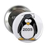 """2009 Graduation Penguin 2.25"""" Button (10 pack"""