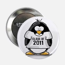 """Class of 2011 Penguin 2.25"""" Button (10 pack)"""
