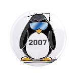 "Cool Graduate 2007 Penguin 3.5"" Button (100 p"