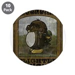 "Legendary Flighted Penguin 3.5"" Button (10 pa"