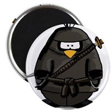 "Martial Arts ninja penguin 2.25"" Magnet (10 pack)"