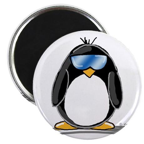 "Cool penguin 2.25"" Magnet (10 pack)"