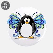 """Blue Fairy Penguin 3.5"""" Button (10 pack)"""