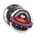 "Evil Space Penguin 2.25"" Button (100 pack)"