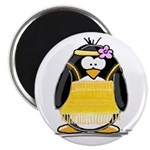 "Flapper penguin 2.25"" Magnet (100 pack)"