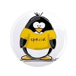 """Special penguin 3.5"""" Button (100 pack)"""