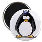 """Princess penguin 2.25"""" Magnet (100 pack)"""