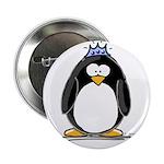 """Princess penguin 2.25"""" Button (10 pack)"""
