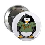 """Snakes on a Plane Penguin 2.25"""" Button (10 pa"""