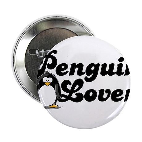 "Penguin Lover 2.25"" Button (10 pack)"
