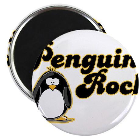 """Penguins Rock 2.25"""" Magnet (100 pack)"""