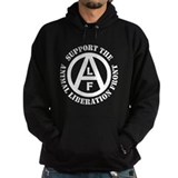 Animal liberation front Hoodie (dark)