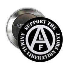 """Cute Animal liberation front 2.25"""" Button (10 pack)"""
