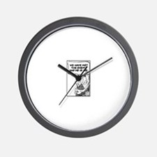 Cute Peace by Wall Clock