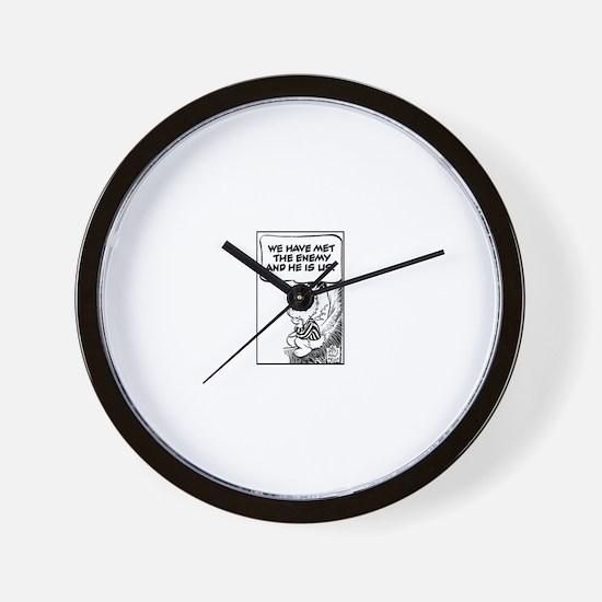 Cute Iraq Wall Clock