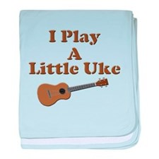 Little Uke baby blanket