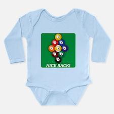 9-BALL Long Sleeve Infant Bodysuit