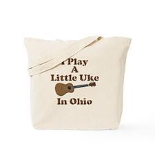 Ohio Ukulele Tote Bag