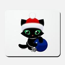 Bucky's Christmas Ball Mousepad