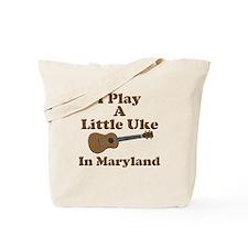 Maryland Ukulele Tote Bag