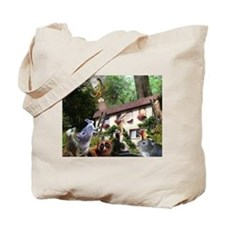 There Goes Bill! is an origin Tote Bag