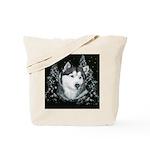Alaskan Malamute Winter Desig Tote Bag