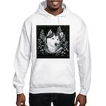 Alaskan Malamute Winter Desig Hooded Sweatshirt