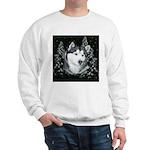 Alaskan Malamute Winter Desig Sweatshirt