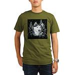 Alaskan Malamute Winter Desig Organic Men's T-Shir