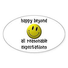 Happy Happy Happy Decal