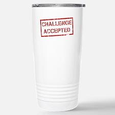 Challenge Accepted Travel Mug