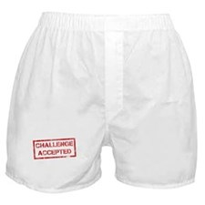 Challenge Accepted Boxer Shorts